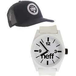 Guess Who Cap and Watch Set