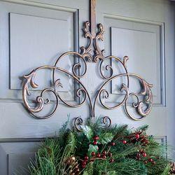 Iron Wreath Hanger
