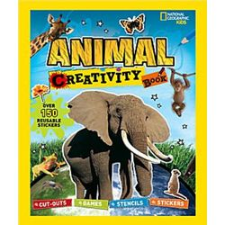 Animal Creativity Book for Kids