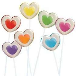 2-Tone Heart Twinkle Pops in 7 Assorted Flavors