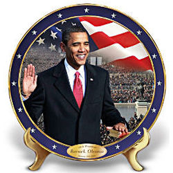 The Time Has Come Barack Obama Commemorative Collector Plate