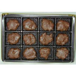 Chocolate Turtle Candy Gift Box