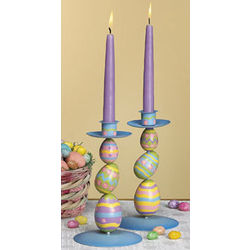 Stacked Egg Taper Holder Set