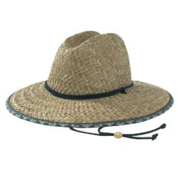 Men's Straw Beach Hat