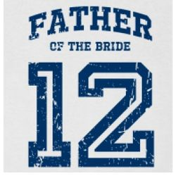 Father of the Bride 2012 Men's T-shirt