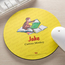 Personalized Curious George Mouse Pad