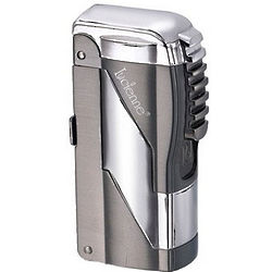 Concord Dual Flame Lighter in Gunmetal