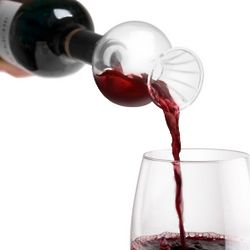 Swirling Wine Aerator and Flavor Enhancer with Stand