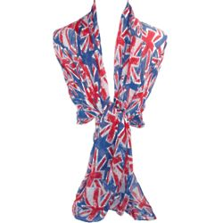 United Kingdom Long Flag Scarf