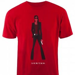Dexter Deborah Silhouette T-Shirt