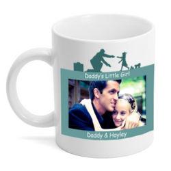 Daddy's Little Girl Personalized Photo Mug