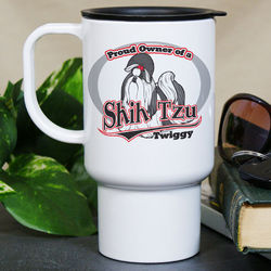 Personalized Proud Owner of a Shih Tzu Mug
