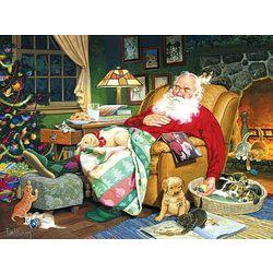 Santa's Nap Time Puzzle
