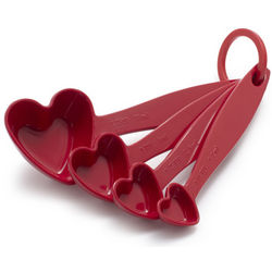 Red Heart Measuring Spoons