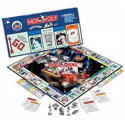 New York Mets Monopoly Board Game