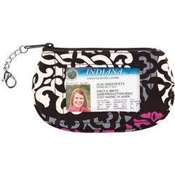 Vera Bradley Clip Zip ID Holder
