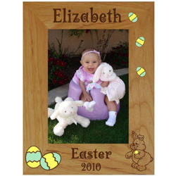 Personalized Easter Frame