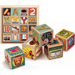 XYZ Alphabet Blocks