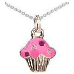 Sweet Life Cupcake Necklace