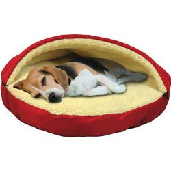 Plush Pet Cave Pet Bed