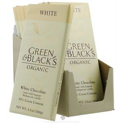 Green and Black's Organic White Chocolate Bar