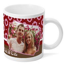 Personalized True Romance Photo Mug