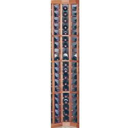 Redwood Curved Corner Wine Rack Kit