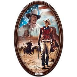 John Wayne, American Hero Collector's Plate