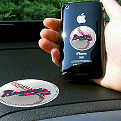 Atlanta Braves Cell Phone Gripper Sticker Set