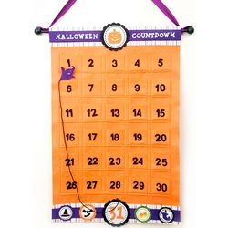 Halloween Countdown Felt Calendar