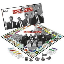 The Beatles Collector's Edition Monopoly Board Game