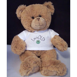Over the Hill Personalized Teddy Bear
