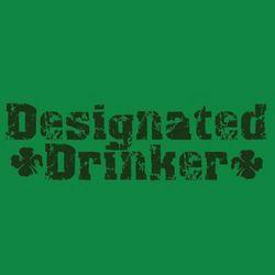 Designated Drinker Irish T-Shirt