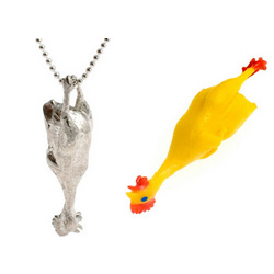 Rubber Chicken Necklace