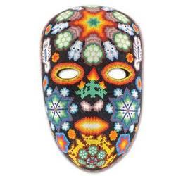 'Scorpions and Deer' Beadwork Mask