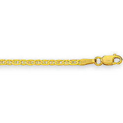 14k Gold Mariner Link Anchor Chain Children's Bracelet