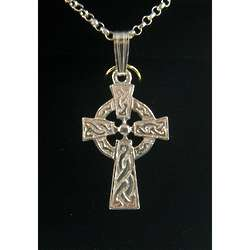 Double Sided Medium Celtic Cross Necklace