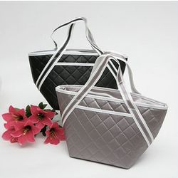Non-Woven Quilted Lunch Bag