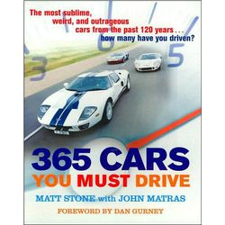 365 Cars You Must Drive Book