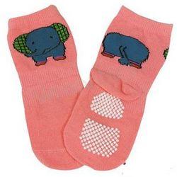 Animal Fun Non-Skid Baby Socks