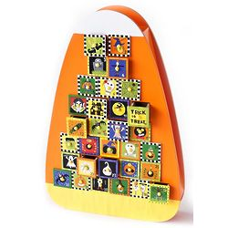 Candy Corn Halloween Countdown Calendar