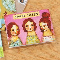 Bronte Sisters Literary Ladies Mini Notes