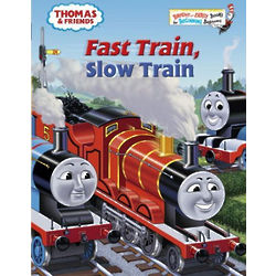 Thomas & Friends Fast Train Slow Train Book