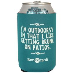 Outdoorsy Sort Of Can Cooler