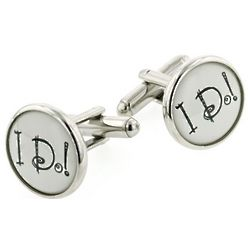 Wedding I Do Cufflinks