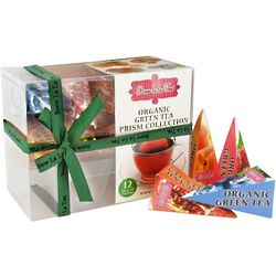Organic Green Tea Prism Bags Sampler