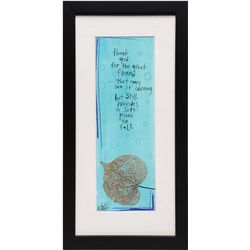 Great Friend Signed Print in Wooden Frame