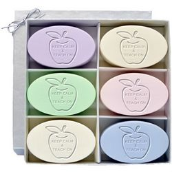 Keep Calm and Teach On Carved Soap Gift Box