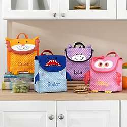 Personalized Little Critter Lunch Bag