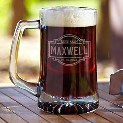 Fremont Personalized Beer Mug